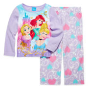 Disney Princess Pajamas - Toddler Girls 2t-4t