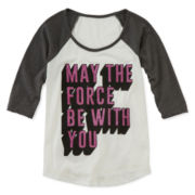 Star Wars Raglan Tee - Girls 7-16