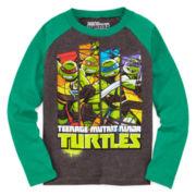 Hybrid Teenage Mutant Ninja Turtle Raglan Tee - Preschool 4-7