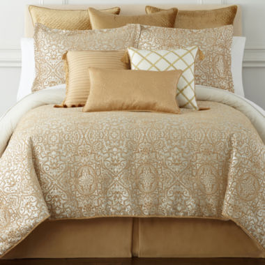 jcpenney.com | Royal Velvet® San Marco 4-pc. Chenille Comforter Set & Accessories