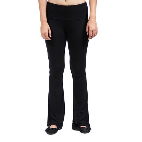 24/7 Comfort Apparel Straight Leg Knit Pull-On Pants