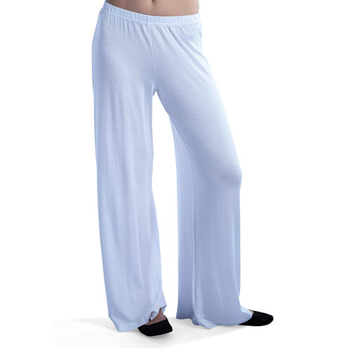 24/7 Comfort Apparel Wide Leg Solid Palazzo Pants