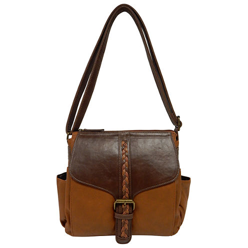 St. John's Bay Braid Pocket Crossbody Bag