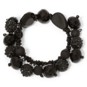 Aris by Treska Black Trinket Stretch Bracelet