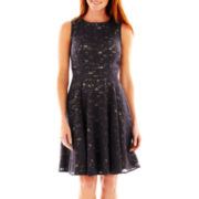 Danny & Nicole® Sleeveless Lace Dress