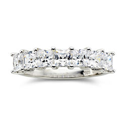 DiamonArt® 1¾ CT. T.W. Cubic Zirconia 7-Stone Ring