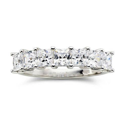 DiamonArt® 1¾ CT. T.W. Cubic Zirconia 7-Stone Ring