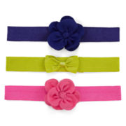 Carter's® 3-pk. Rosette Head Wraps - Girls