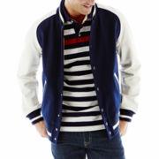 jcp™ Varsity Jacket