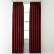 Royal Velvet® Elegance Pinch-Pleat Curtain Panel