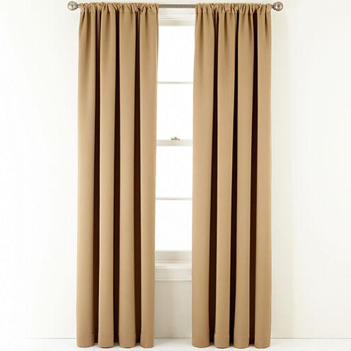 Royal Velvet® Ally Rod-Pocket Blackout Curtain Panel
