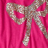 Modern Pink Bow