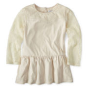 Sally M™ Sally Miller Lace Peplum Top - Girls 6-16