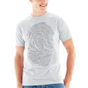 Prints Embroidered Tee