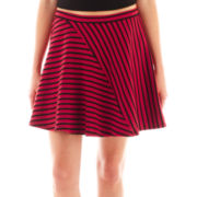Olsenboye® Striped Skater Skirt