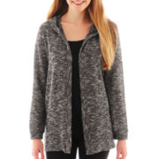 Olsenboye® Long-Sleeve Hooded Cardigan