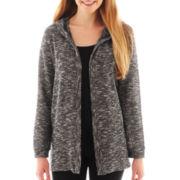 Olsenboye® Long-Sleeve Hooded Cardigan