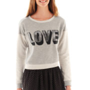 Olsenboye® Long-Sleeve Love Sweatshirt