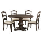 Farmhouse 5-pc. Round Dining Set