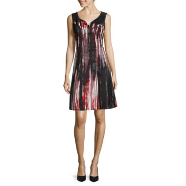 jcpenney.com | Worthington® Sleeveless Seamed Zip-Front Dress