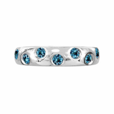 jcpenney.com |  Genuine Blue Topaz Sterling Silver Ring