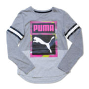 Puma® Long-Sleeve Jersey Top - Girls 7-16