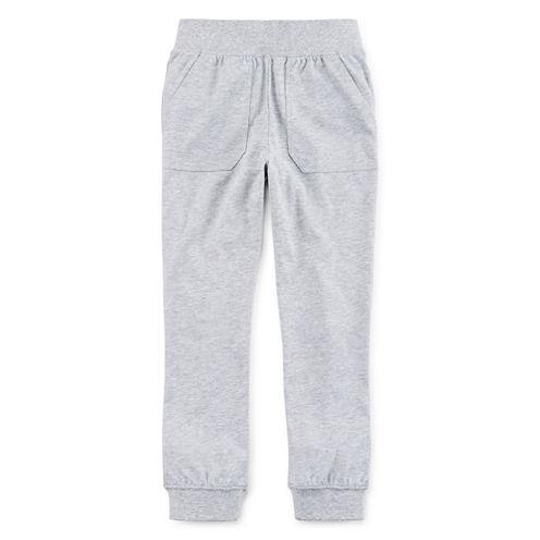 Okie Dokie® Knit Joggers - Preschool Boys 4-7