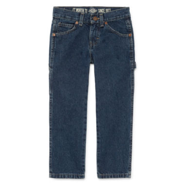 jcpenney.com | Dickies® Relaxed-Fit Carpenter Denim Jeans - Preschool Boys 4-7