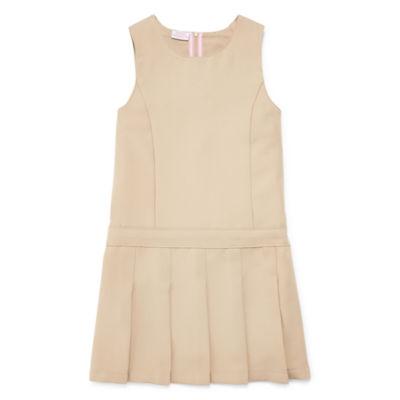 IZOD® Sleeveless Jumper Dress