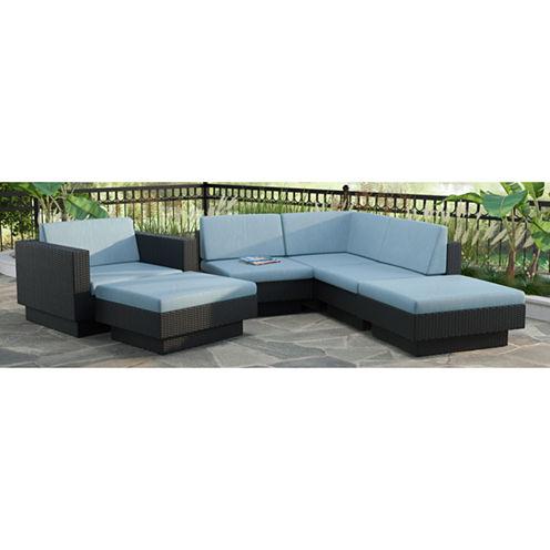 Park Terrace 6-pc. Sectional Patio Set
