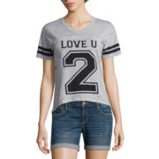 Freeze Short-Sleeve Burnout Football Tee