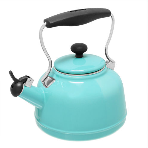 Chantal® 1.7-qt. Enamel-On-Steel Vintage Teakettle