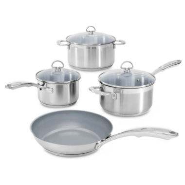 jcpenney.com | Chantal® Induction 21 Steel® 7-pc. Set with Ceramic Coating