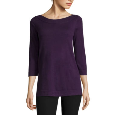 jcpenney.com | Worthington® 3/4-Sleeve Sweater