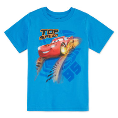 jcpenney.com | Disney Collection Short-Sleeve Lightning McQueen Graphic Tee - Boys