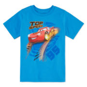 Disney Collection Short-Sleeve Lightning McQueen Graphic Tee - Boys