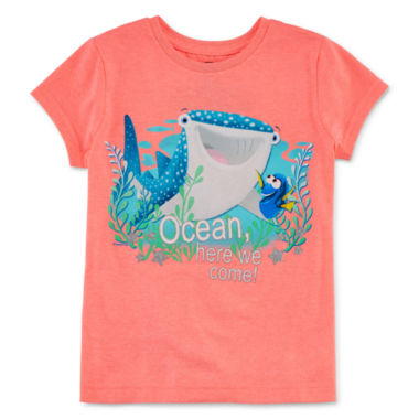 jcpenney.com | Disney Collection Short-Sleeve Dory Pals Graphic Tee - Girls