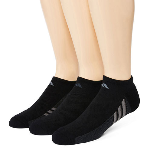 adidas® Mens 3-pk. climacool® Superlite No-Show Socks
