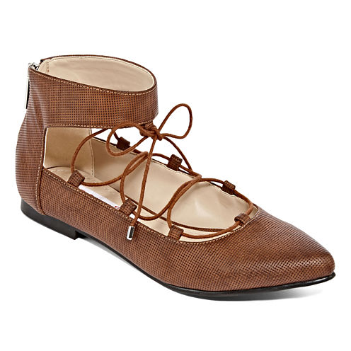 Two Lips Too Willow Lace-Up Ballet Flat