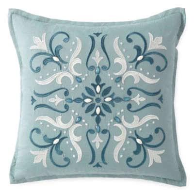 Eva Longoria Home Esme Square Throw Pillow