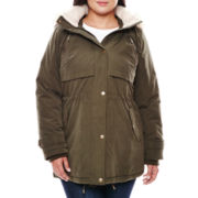 a.n.a® Faux Fur-Trimmed Parka - Plus