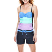 Free Country® Colorblock Tankini Swim Top or Drawstring Shorts