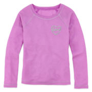Total Girl® Long-Sleeve Thermal Pajama Top - Girls 4-16