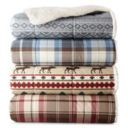 JCPenney Home™ Cozy Spun Throw