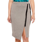 Worthington® Zipper Envelope Skirt