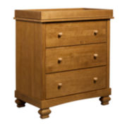 DaVinci Clover 3-Drawer Changer Dresser - Chestnut