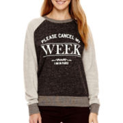 MNG by Mango® Long-Sleeve Paris Sweatshirt
