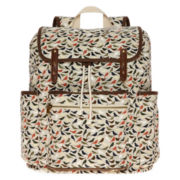SM New York Birds Print Cargo Backpack