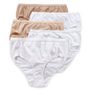 Hanes® 5-pk. Ultimate Cotton Briefs - 40KS