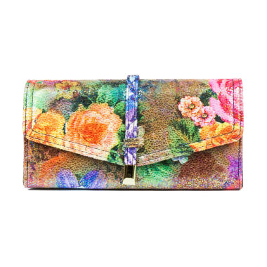 jcpenney.com | Mundi File Master Irrisistible Floral Wallet